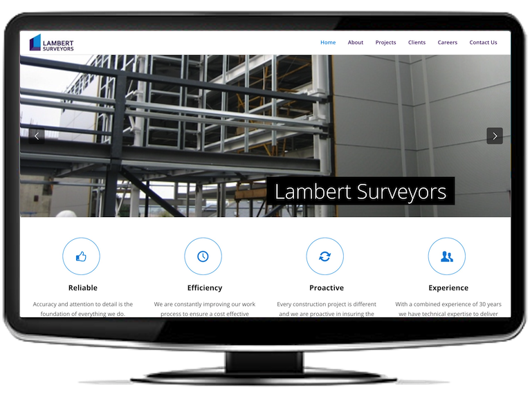 Lambert Surveyors Website
