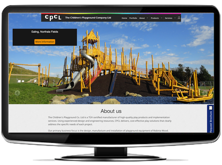 The Childrens Playground Website